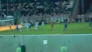 6/1/2009 Juve-Monaco 1-1: la punizione di Giovinco ripresa dagli spalti