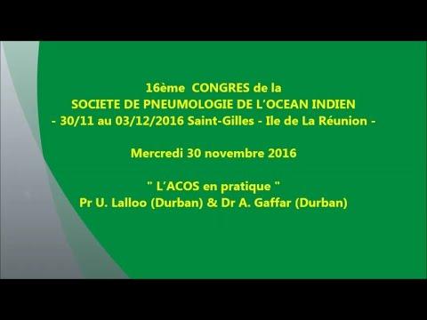L'ACOS en pratique. Pr U. Lalloo Durban & Dr A Gaffar Durban