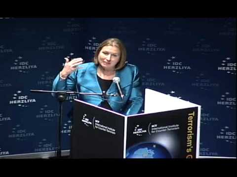 MK Tzipi Livni's Keynote Address at ICT's 11th International Conference