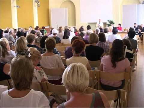 Смотреть видео В августе прошло собрание вентспислских педагогов
