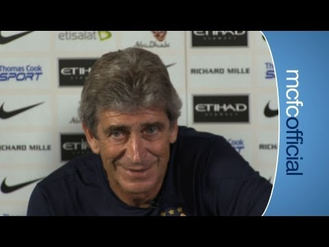 Manuel Pellegrini's 1st City Press Conference