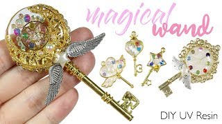 Watch me UV Resin: How to DIY Magical Girl Wands Tutorial