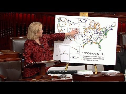 Landrieu leads colleagues in colloquy to fix flood insurance