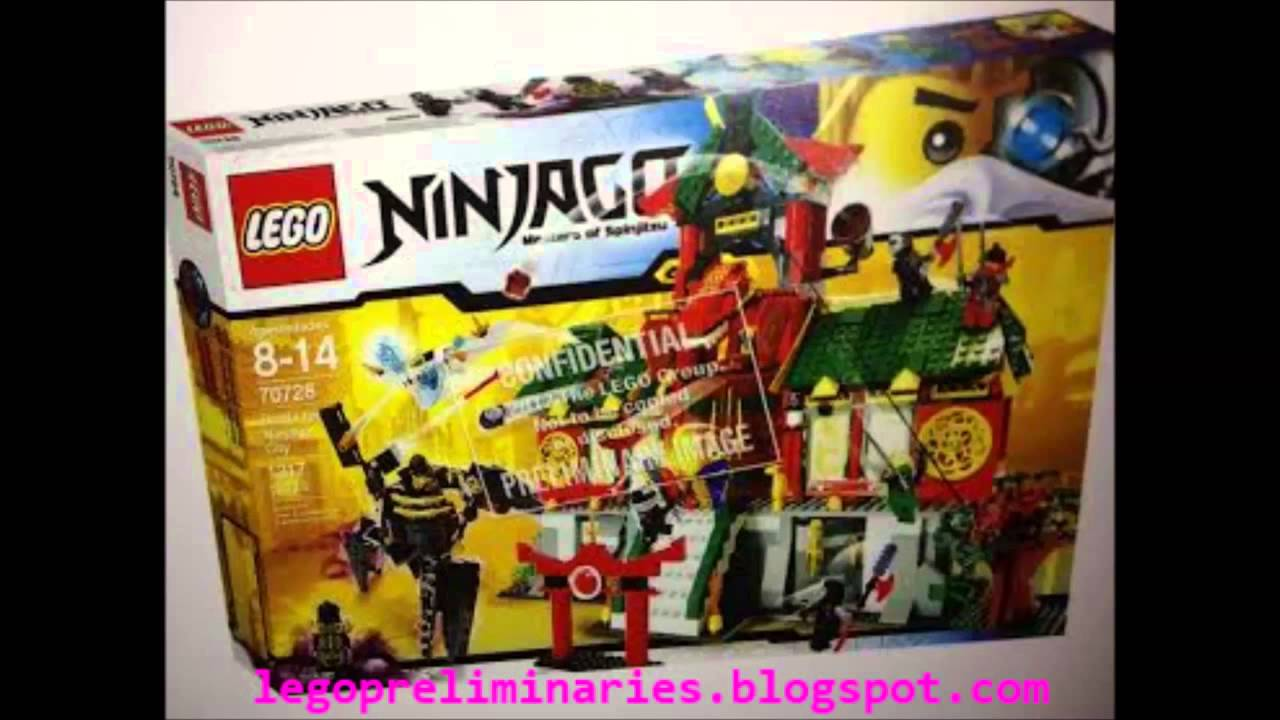 Lego Ninjago summer 2014 battle at the city set image NEW exclusive