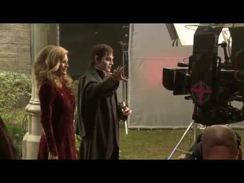 Rodaje - Dark Shadows - Helena Bonham Carter, Johnny Depp, Eva Green, Michelle Pfeiffer, Tim Burton