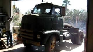 International RC180 Leaves Garage