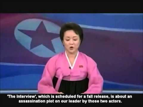 North Korean News Report on Seth Rogen Movie (A PARODY)