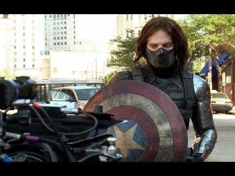 Captain America: The Winter Soldier B-Roll Footage #2 (2014) Chris Evans HD