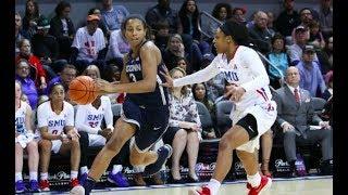 UConn Women's Basketball Highlights v. SMU 02/24/2018