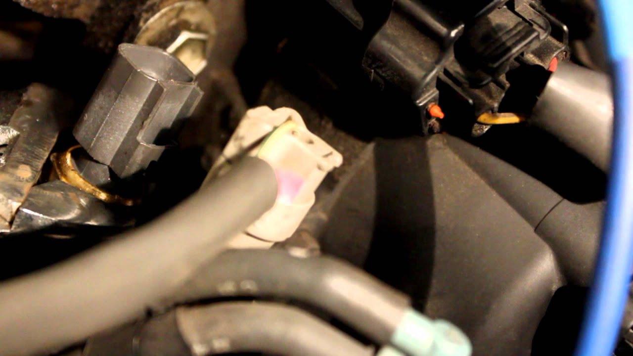 Coolant Temperature Sensor Replacement Quot How To Quot Toyota