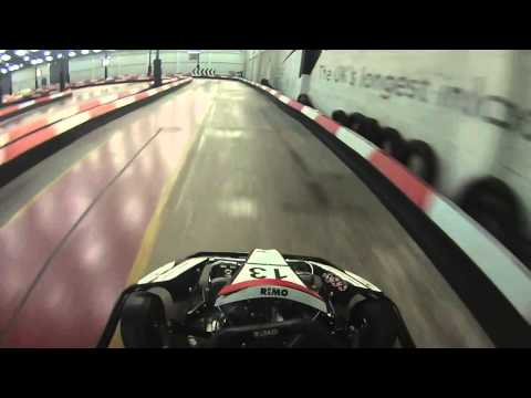 2 Laps at Capital Karts London, The UK's Longest Indoor Karting Circuit