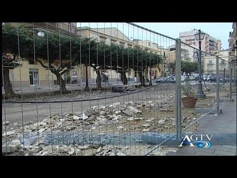 porto empedocle lavori in corso in via roma protestano i negozianti news agtv