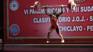 2010 Pan American Youth Weightlifting Championships 62kg Class