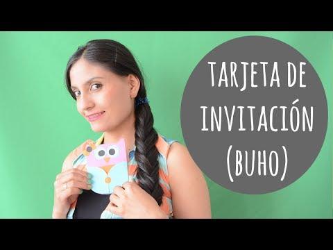 COMO HACER UNA TARJETA DE INVITACIÓN INFANTIL - ♥Anyumara♥
