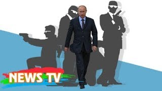 Những kẻ mặt lạnh, áo đen đứng sau ông Putin