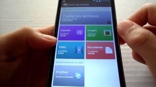 LG L9 L7 L5 Administrador De Archivos De LG Optimus G2 En