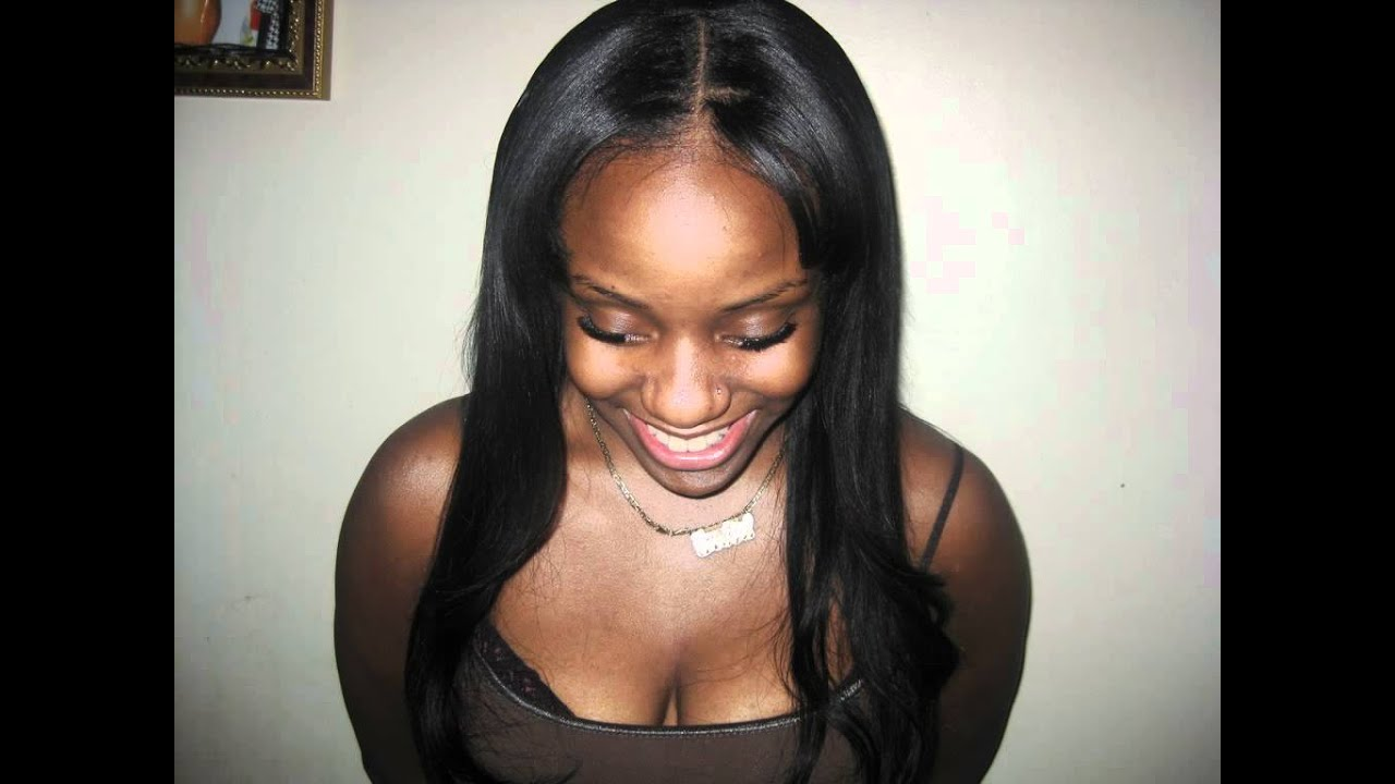 Long Weave Hairstyles With Middle Part 5