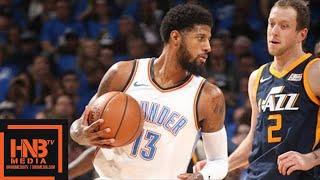 Oklahoma City Thunder vs Utah Jazz Full Game Highlights / Game 1 / 2018 NBA Playoffs