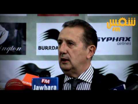 image vidéo المدرب الجديد للمنتخب : سنترشح لنهائيات كأس العالم بروسيا
