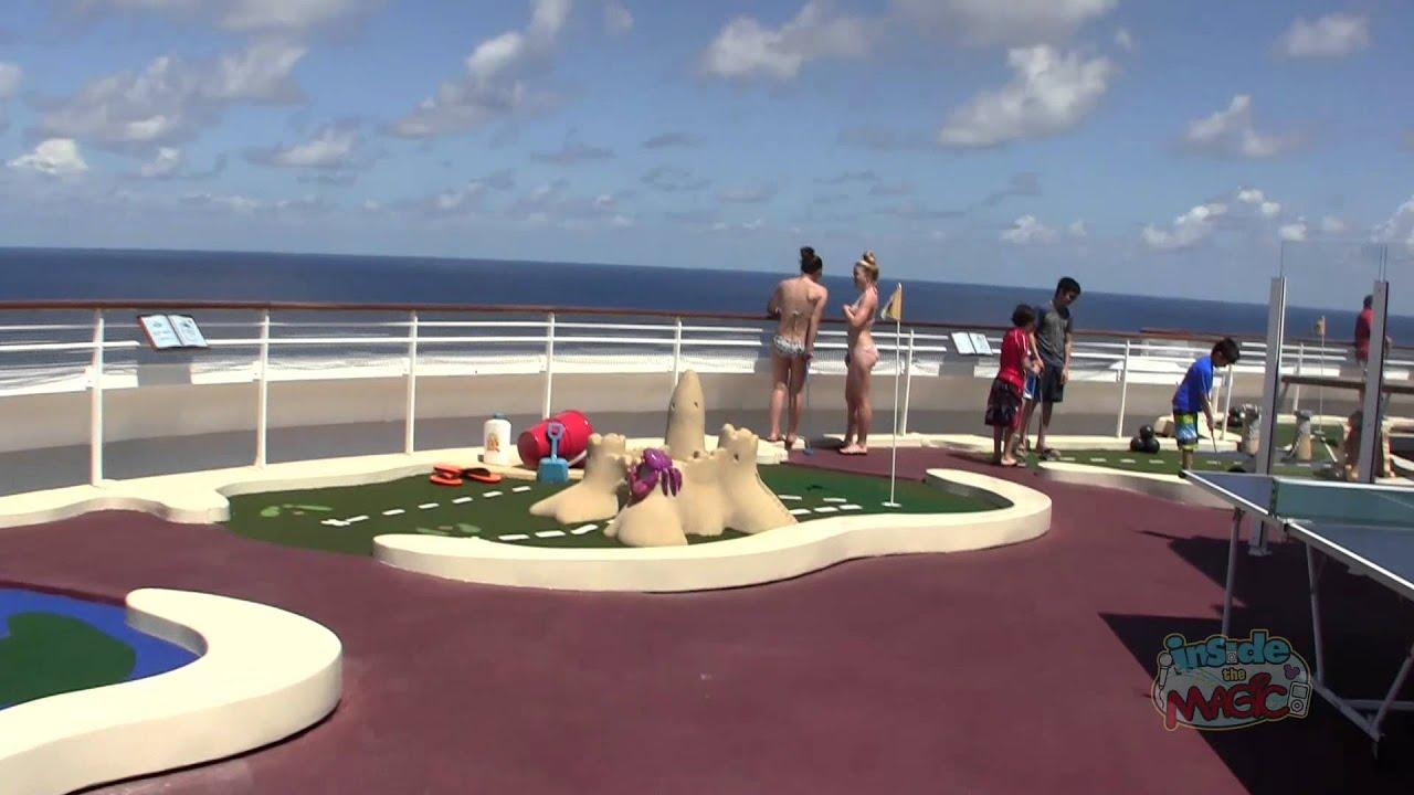 Goofy Golf Mini Golf On The Disney Fantasy Cruise Ship