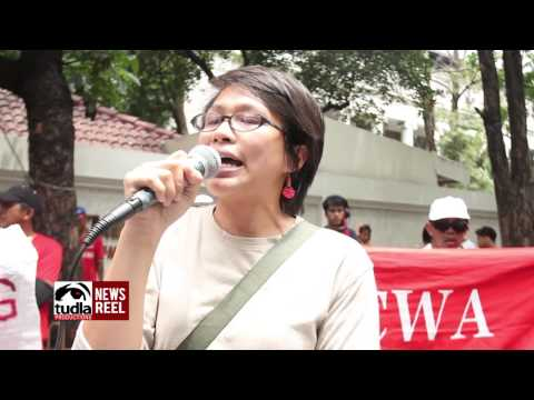 NEWSREEL: 2014 04 08 Kalbaryo ng mamamayan 2014 at Supreme Court, DOJ, US Embassy and DOLE
