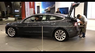 NEW MODEL 3 FIRST LOOK!!!
