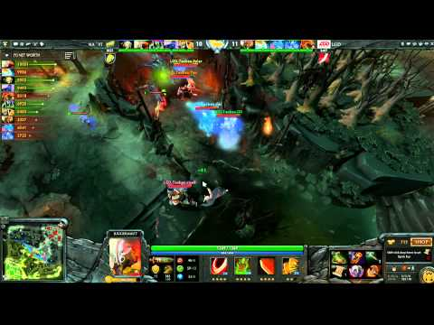 LGD vs Na'Vi -  Winner Bracket Semifinals Game 2 - The International - English Commentary
