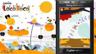 [HD] LocoRoco HI (Touch Screen Fixed / Accelerometer Support) Java Mobile Game view on youtube.com tube online.