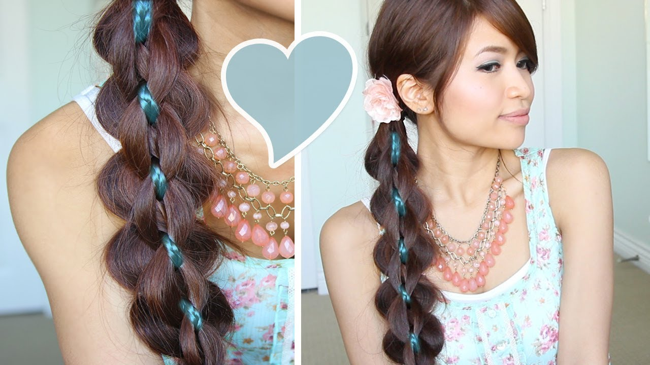 Hairstyle Video On Youtube : Intricate 5-Strand Braid Hair Tutorial Hairstyle - Bebexo - YouTube