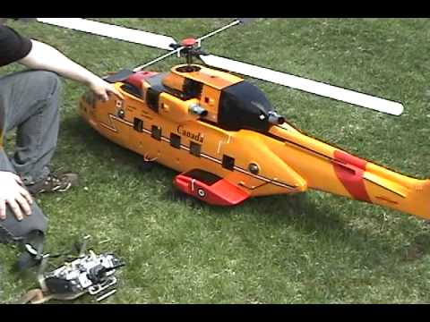 Cormorant hlicoptre tlguid - RC Scale Helicopter Cormorant