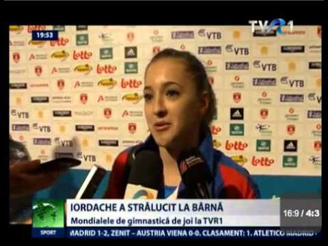Romanian Gymnastics News from Antwerp - 02.10.2013