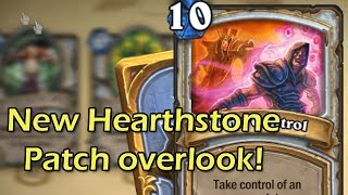 Hearthstone Beta: New Patch Overlook and Gold Card Animations with Wowcrendor