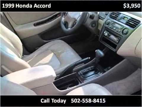 1999 Honda Accord Used Cars Mt. Washington KY