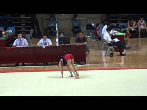 Gong Yuxun (Zhejiang) FX AA A 2013 CHN Junior Nationals, Changzhou