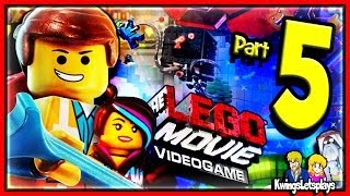LEGO Movie Videogame Walkthrough Part 5 Train Escape