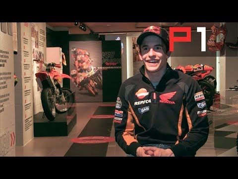Marc Marquez after his crash -