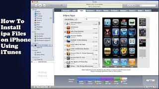 How To Install Ipa Files On IPhone [Tutorial]