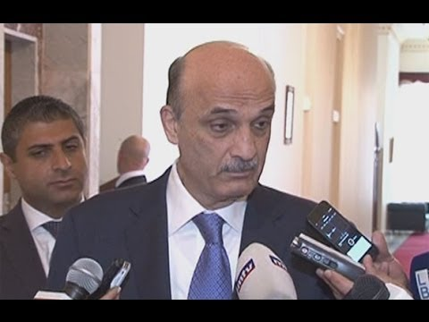 Press Conference - Samir Geagea 08/05/2014