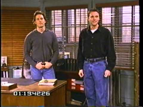 NBC series Wings Blooper reel from 1996 1997