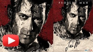 Official Jai Ho Poster - First Look Of Salman Khan\'s Jai Ho Poster