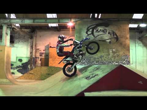 Graham Jarvis visits The Works skate park Leeds