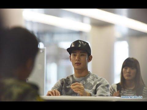 (Video Coverage) Korean Superstar Kim Soo Hyun arrival at Manila Airport