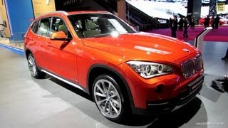 2013 BMW X1 SDrive 16d XLine Exterior And Interior