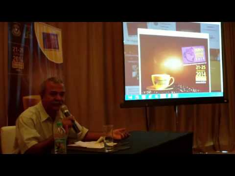 7 /10   India International Coffee Festival 2014 press briefing   Ramesh P  Rajah