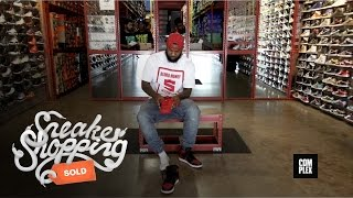 The Game Goes Sneaker Shopping with Complex