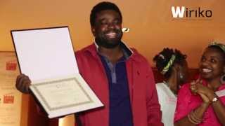 Kunle Afolayan receives award for Phone Swap at Nollywood Week Film Festival
