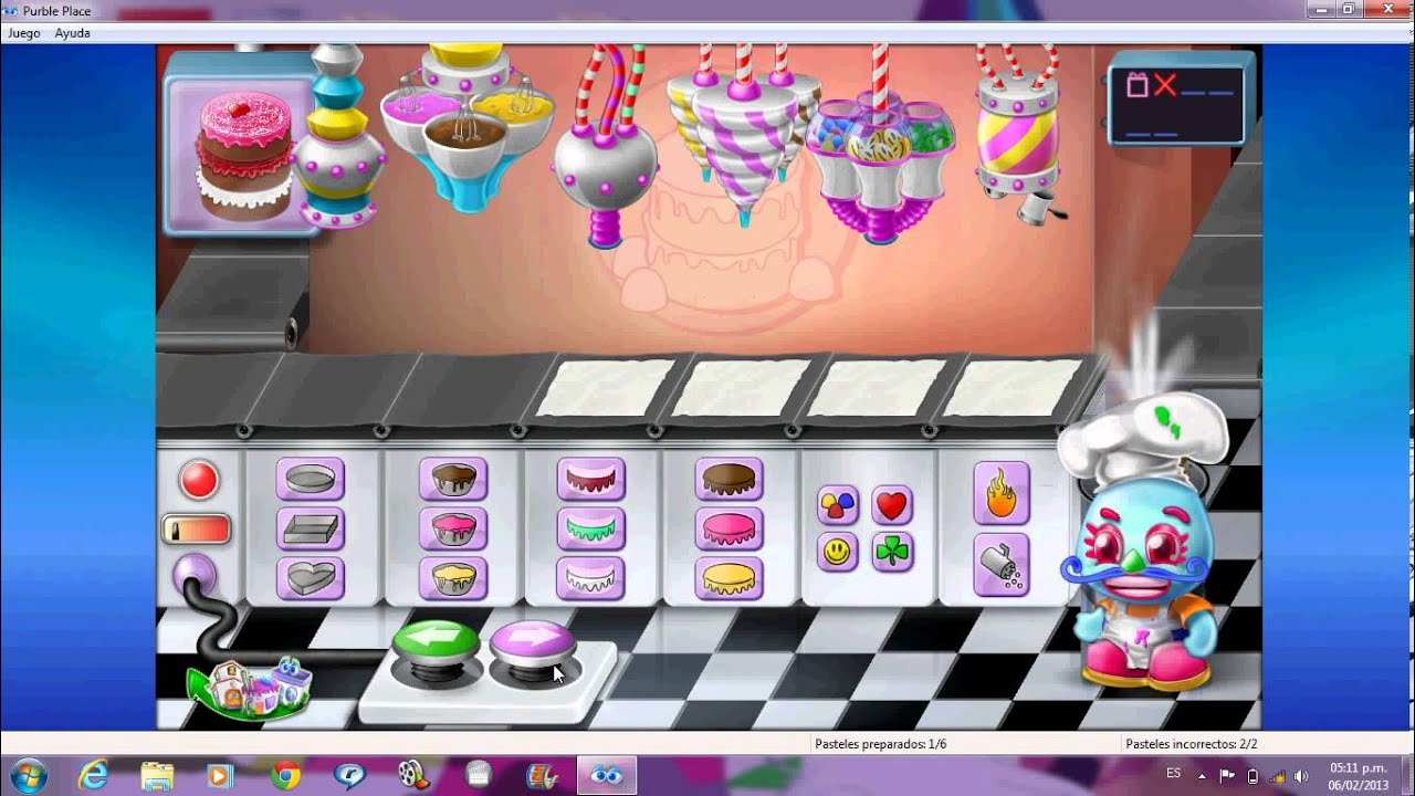 Purble Place Cake Game Free Online