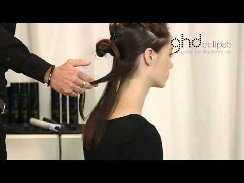 ghd eclipse how to...beachy waves