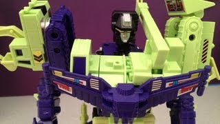 TRANSFORMERS DEVASTATOR G1 CONSTRUCTICONS VIDEO TOY