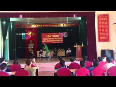 Màn nhảy dân Vũ của CLB TNTN Hiệp Hoà. Net - Ra mắt CLB